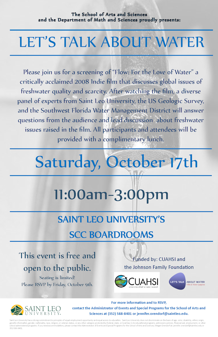 Saint Leo LTAW Event