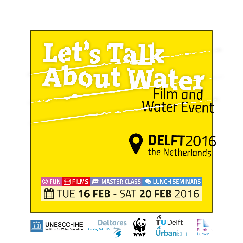 Let's Talk About Water Delft 2016