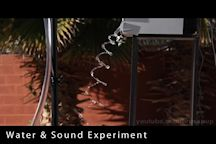 Water & Sound Experiment